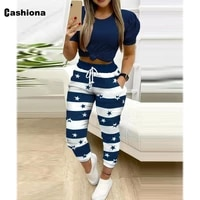 2021 high waist legging womens summer drawstring trousers fashion stripes casual skinny pantalon female ankle length pants