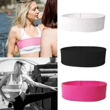 1 pièces bandeau de soutien du sein Anti rebond sans rebond réglable entraînement athlétique poitrine ceinture ajustable soutien-gorge de sport accessoire alternatif