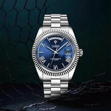 CADISEN Gold Watch for Men Mechanical Wristwatch Top Brand Luxury Automatic Watch Waterproof MIYOTA