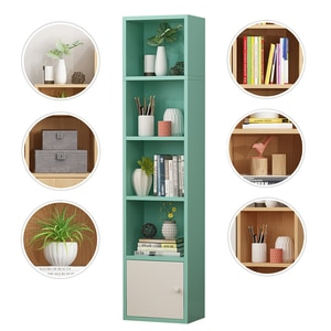 Environmental Protection Health Bookcase Simple Floor Creative Bookcase Home Bedroom Space Saving Corner Storage Rack