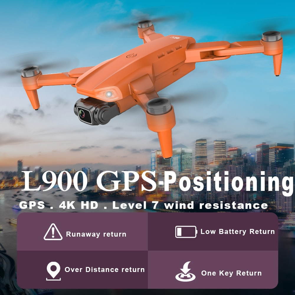 RC Dron 1.2km Long Distance Drones with Camera HD 4K 5G WIFI FPV Quadcopter Brushless GPS Professional Foldable Drone L900 enlarge