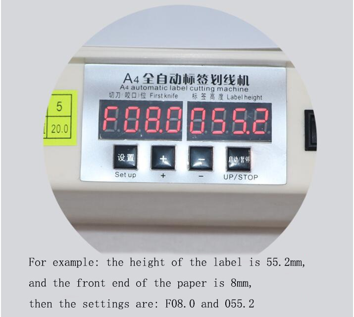 A4 automatic self-adhesive marking machine, label cutting machine, high-speed electric self-adhesive cutting and labeling machin enlarge