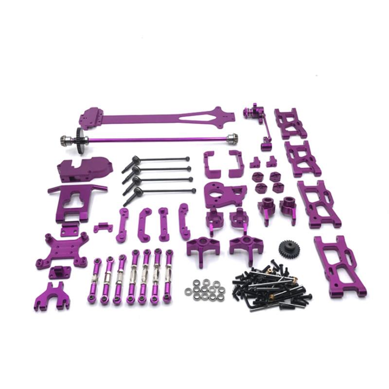 WLtoys  1/12 124016 124017 124018 124019 RC Car Universal Upgrade Modified Parts 21 Piece Set