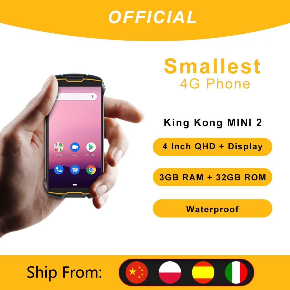 Cubot KingKong MINI2 Waterproof Rugged Phone 4