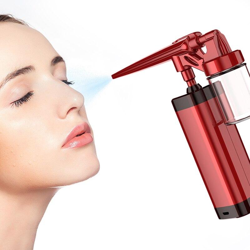 USB نانو أداة ترطيب الأكسجين حقن أداة عالية الضغط الانحلال الوجه الترطيب عقد ترطيب الوجه