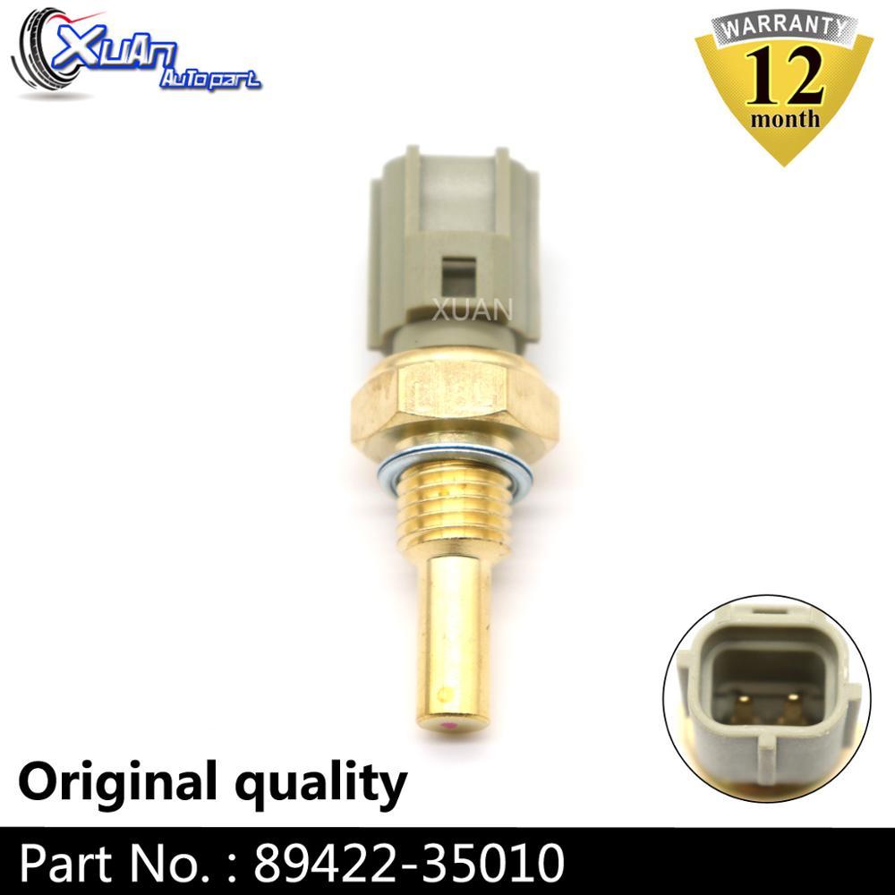 XUAN Sensor de temperatura del refrigerante 89422-35010 para Lexus LX450 RX300 RX330 RX350 RX400h ES300 ES330 SC430 GS430 IS300 LS430 LS400