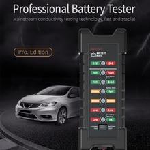 12V 24V Motorfiets Auto Batterij Tester BM410 & BM420 Met 7 Led Verlichting Display Car Batterij Detector Analyzer dynamo Controleren