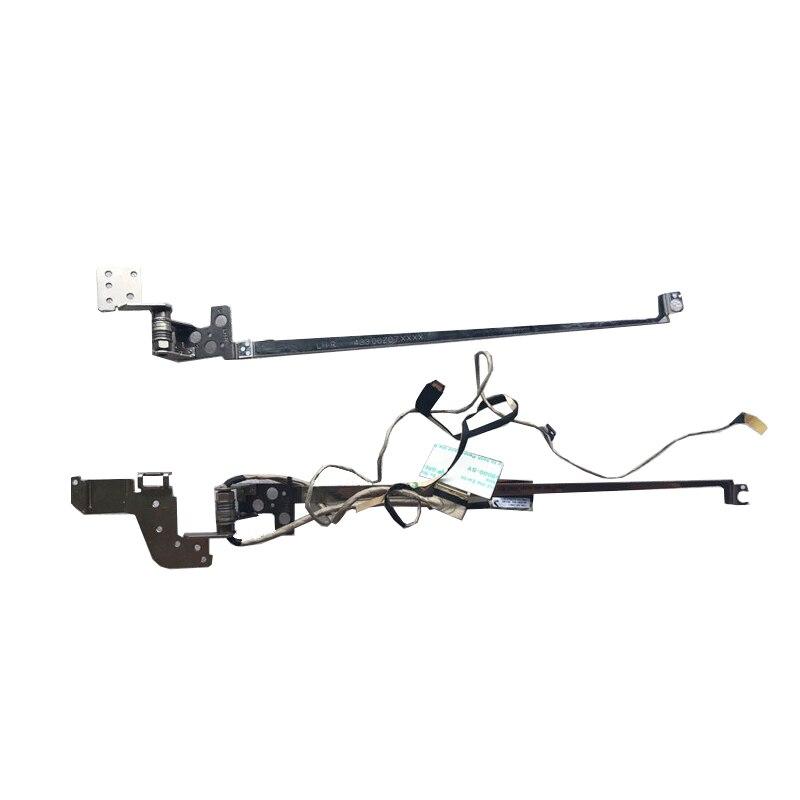 جديد لينوفو flex2-15 فليكس 2 15 lcd فيديو شاشة عرض كابل L + R المفصلي مجموعة مع كابل 5H50F76792