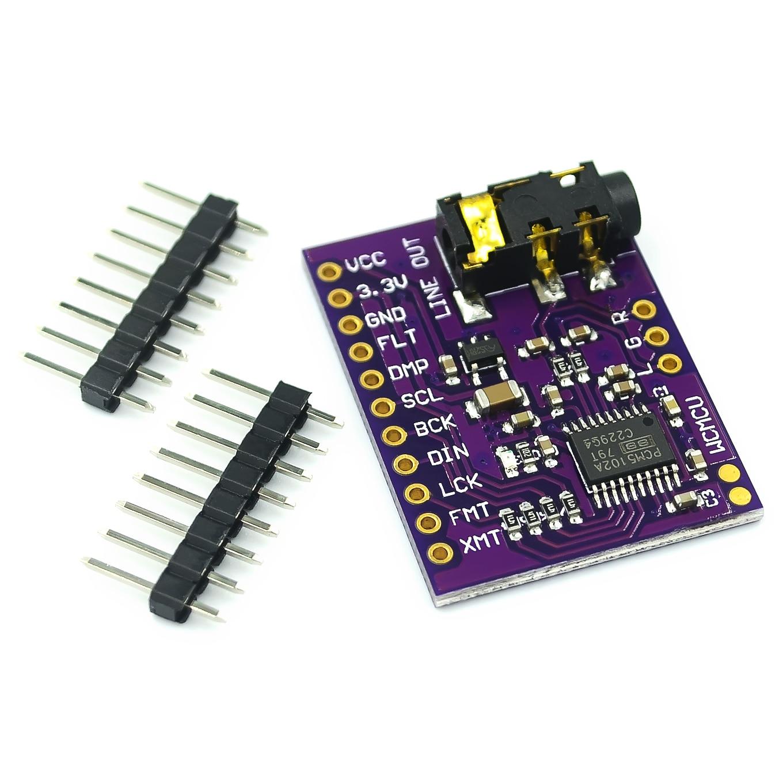 PCM5102 PCM5102A DAC звуковая карта плата pHAT 3,5 мм стерео разъем 24 бит цифровой аудио модуль для Raspberry Pi Beyond