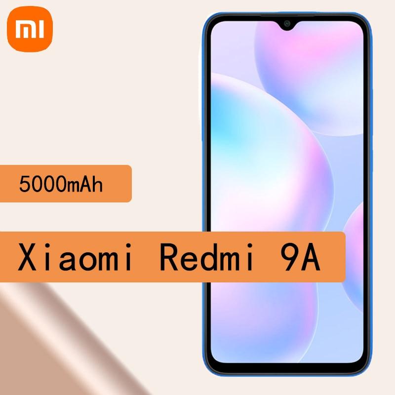 Перейти на Алиэкспресс и купить Смартфон Xiaomi Redmi 9A, восемь ядер, экран 6,53 дюйма, HD + 5000 мАч