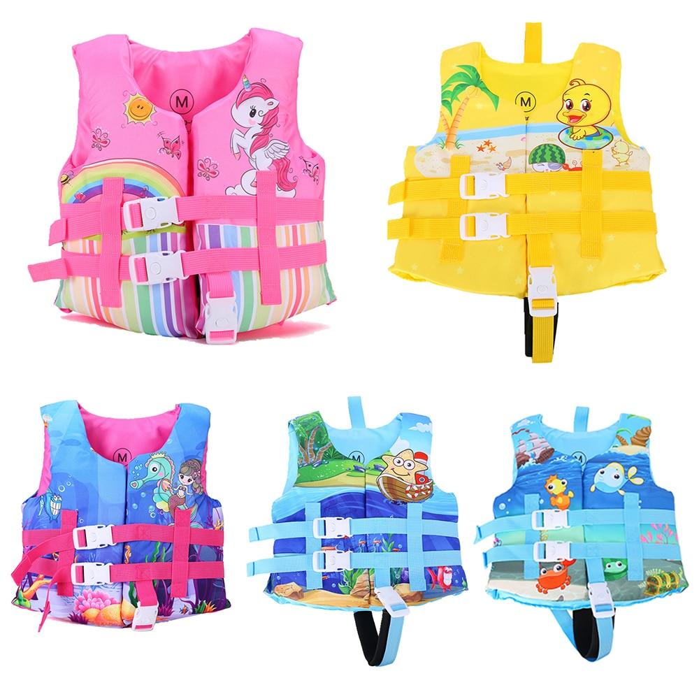 Водный спорт спасательный жилет для детей, плавательный каяк, спасательный жилет, куртки для мальчиков и девочек, водные виды спорта, защитн...