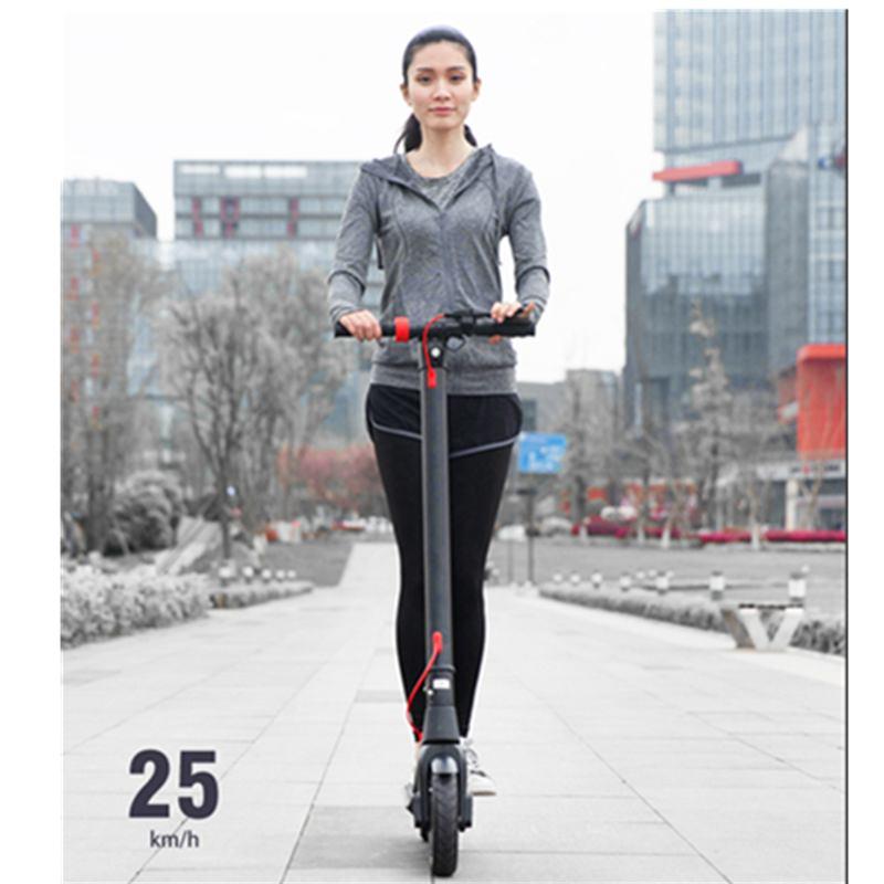 [US EU Direct]-patinete eléctrico plegable para adulto, 10 pulgadas, 350W, 36V/10Ah, 25...