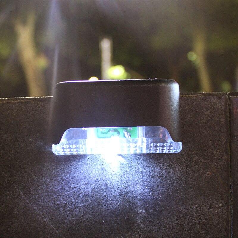 Solar Light 1LED Wall Light Outdoor Garden Wall Light Fence Light Waterproof Landscape Courtyard Solar Ladder Light
