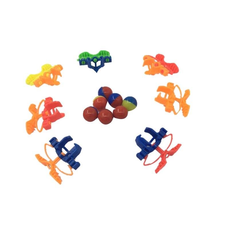 10 шт. Забавный летать прыгать, бело-серые детские странные игрушки отказов детские младенцев Обучающие подарки оптом