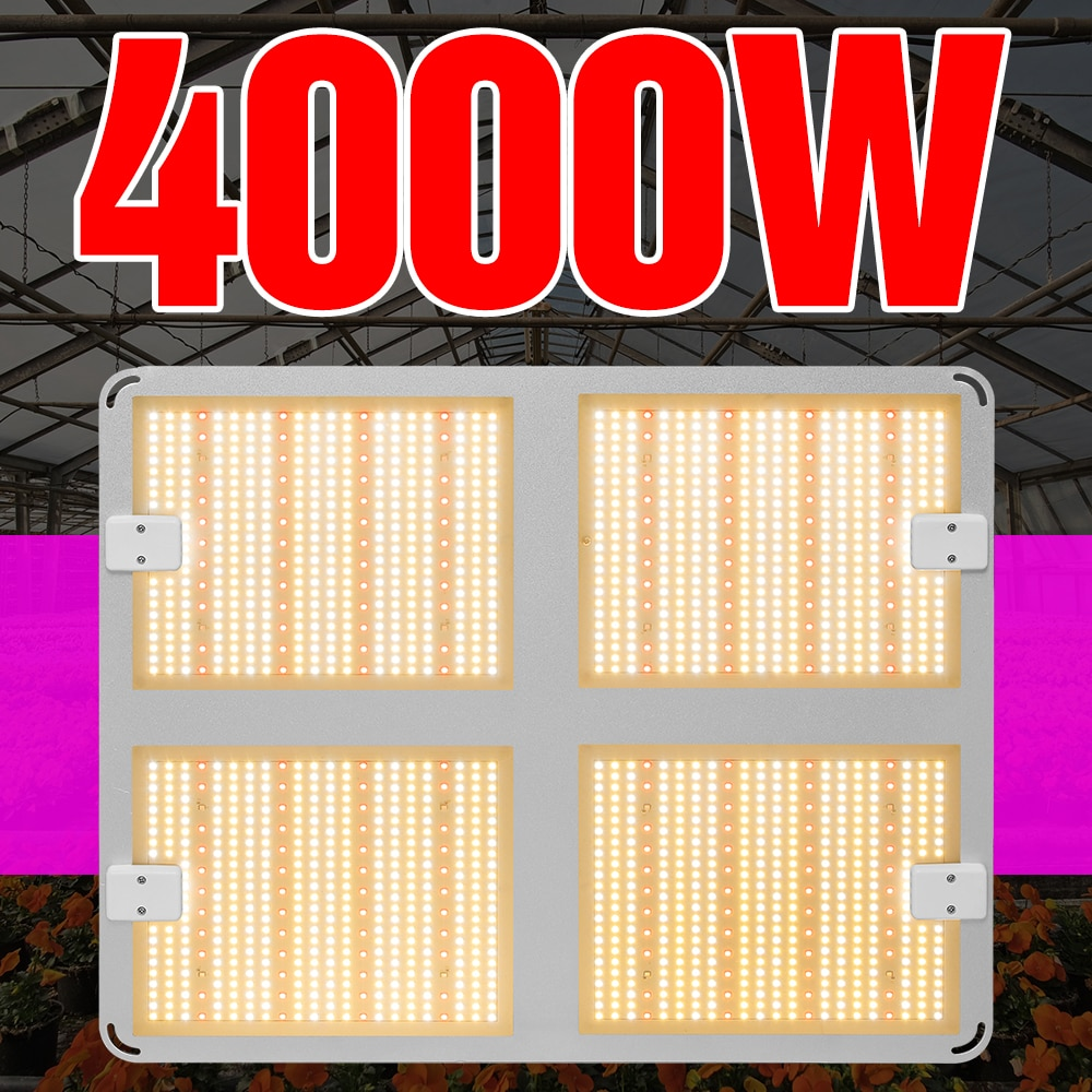 Grow Light 1000W 2000W 4000W Plant Growing Lamp 220V Growth LED Lamp Full Spectrum LED Greenhouse Light Flower Seed Phyto Lamp