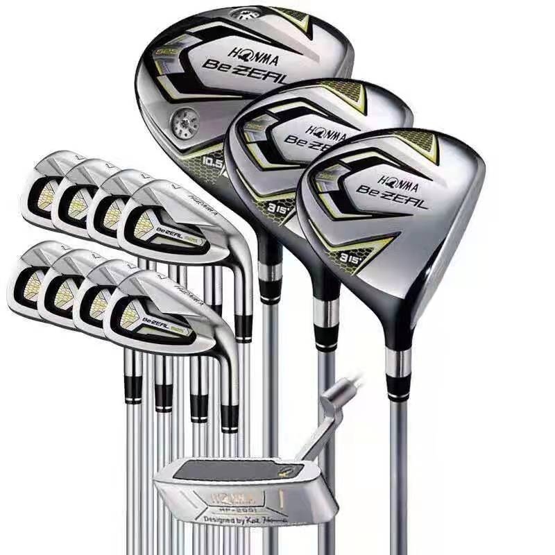 New 525 golf clubs HONMA BEZEAL 525 full set of HONMA men's golf junior and intermediate golf equipment graphite golf ball