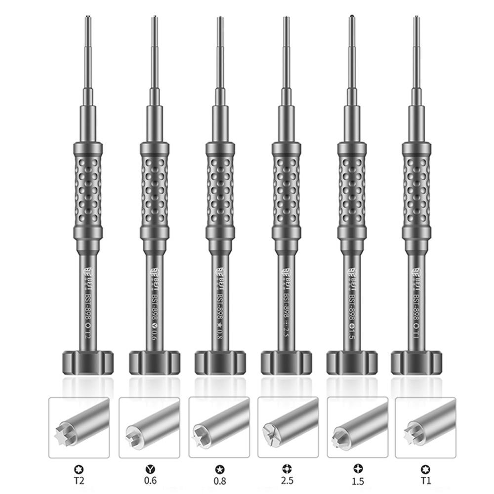 75. Juego de Destornilladores de Precisión de Acero BST-898 3D