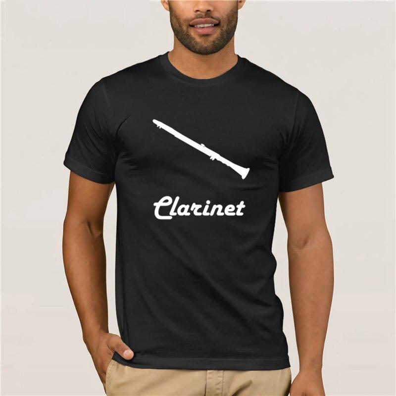 ¡Moda de verano 2020! Camiseta clásica de Clarinete para hombre y mujer, camiseta informal Formal para hombre, regalo