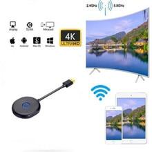 4K WiFi affichage récepteur Dongle TV bâton Miracast ios Android Windows DLNA Airplay écran miroir pour Netflix YouTube