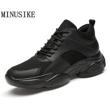 Baskets blanches hommes chaussures 2020 printemps respirant maille hommes chaussures en cuir véritable chaussures décontractées respirantes