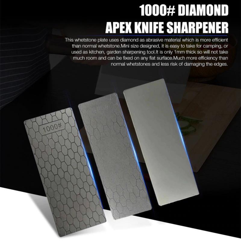 2020 Новый профессиональный 400/1000 точильный камень с тонким бриллиантом точильный инструмент