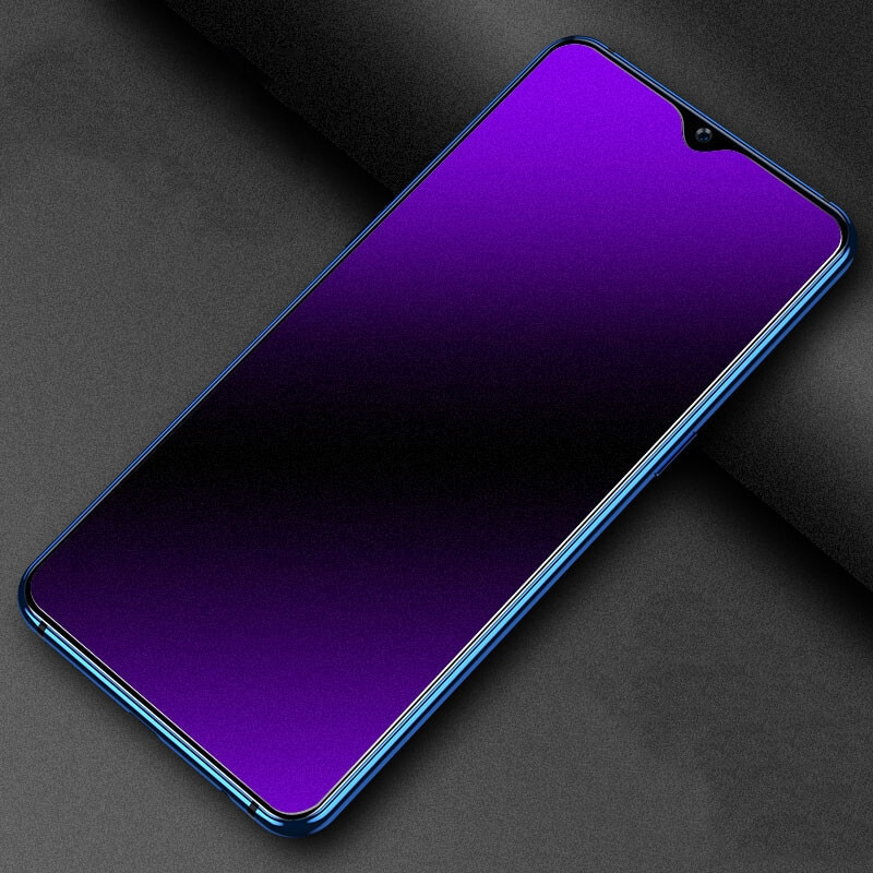 Anti Blue Matte Frosted Tempered Glass For Realme C21 C3 C25 C11 C25S Screen Protector For Realme C3i C12 C15 C17 C21Y Glass