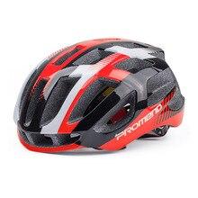 PROMEND Bicycle Helmet Bike Red aero Road Bike Helmet Mtb Cycling Helmet Safety Sport Cap prevail capacete ciclismo casque vel E