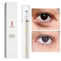 polypeptide multi effect eye serum to improve dark circles moisturize gentle hydration soothing liquid serum