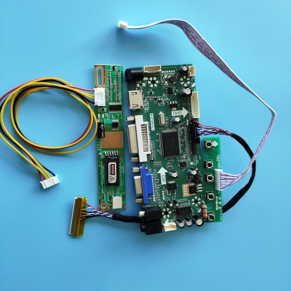 مجموعة لوحة عرض الصوت ، 30 دبوس ، 1280 بوصة ، لـ B154EW02 V4/B154EW02 V5 M.NT68676 ، HDMI + DVI + VGA LCD ، 800x15.4