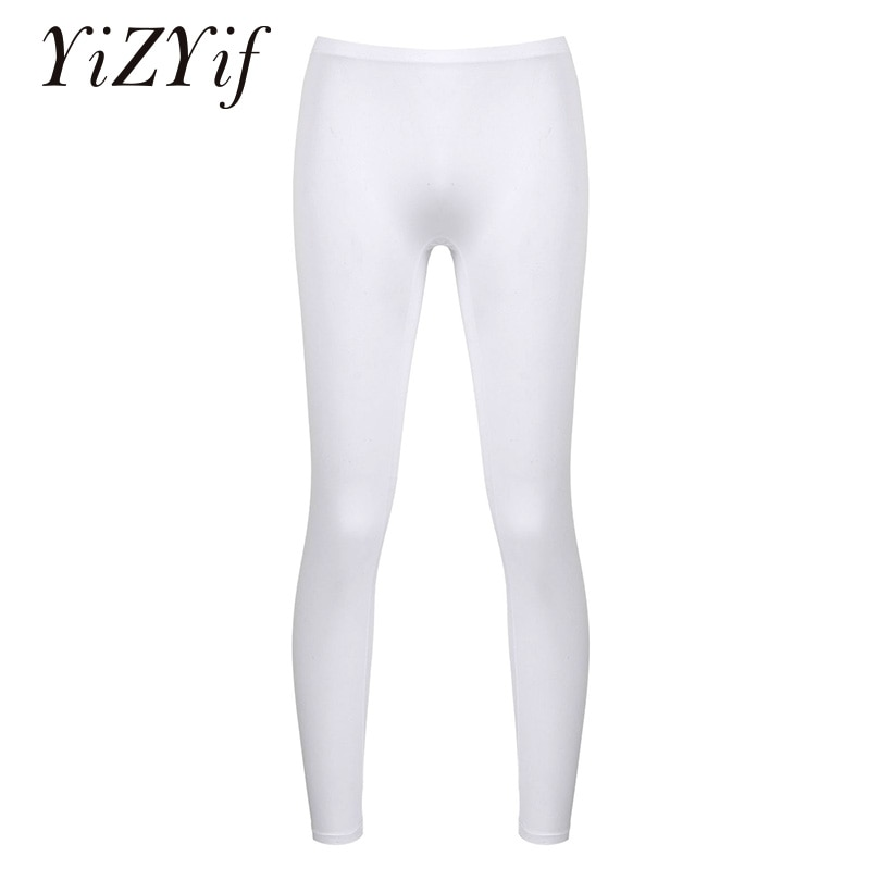 White Athletic Running Bottoms Men Sport Pants See Through Stretchy Gym Training Fitness Yoga Leggings Sportswear Tight Trousers