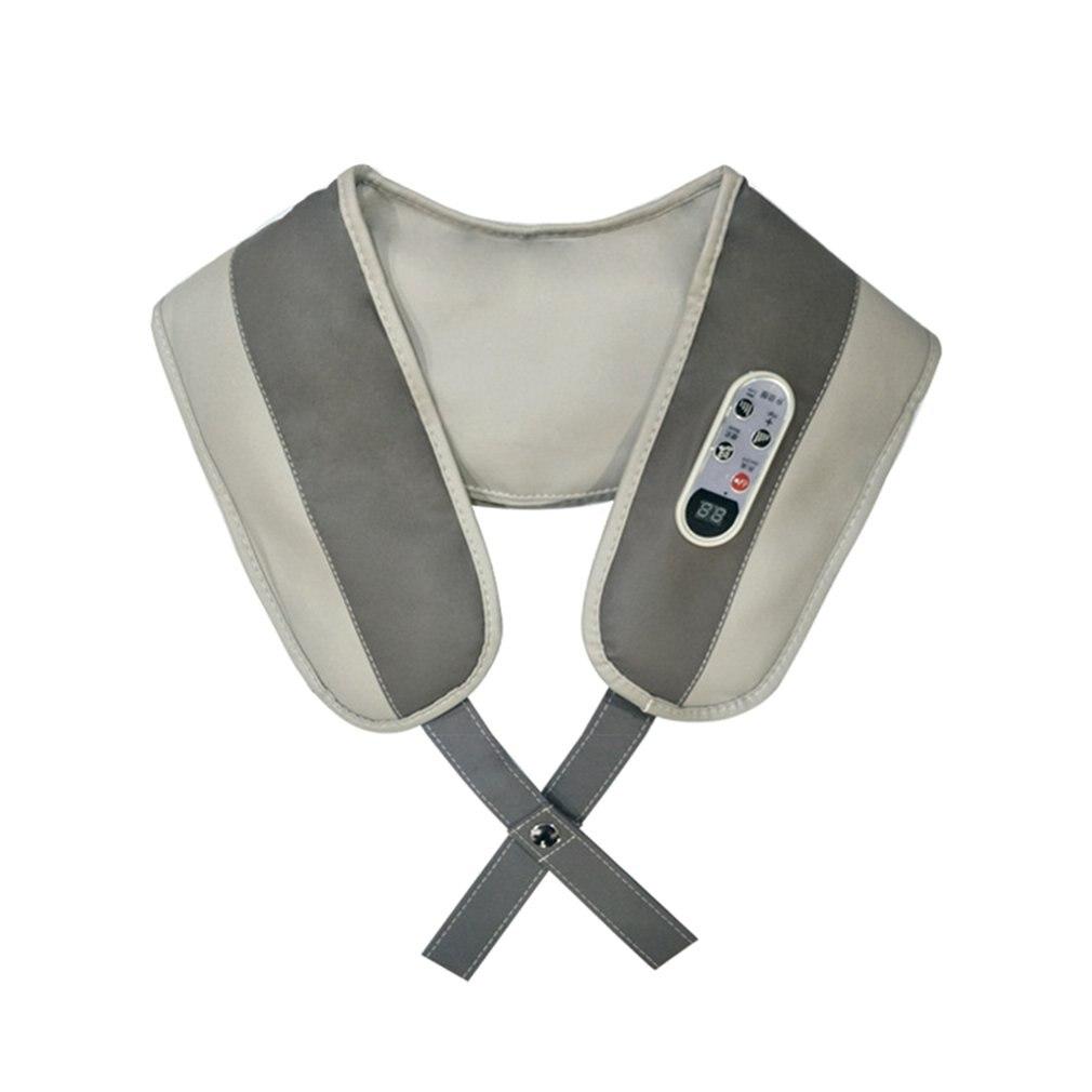Masajeador de cuello en forma de U para aliviar el dolor de cuello y hombro multifunción masajeador de golpes portátil eléctrico Cervical