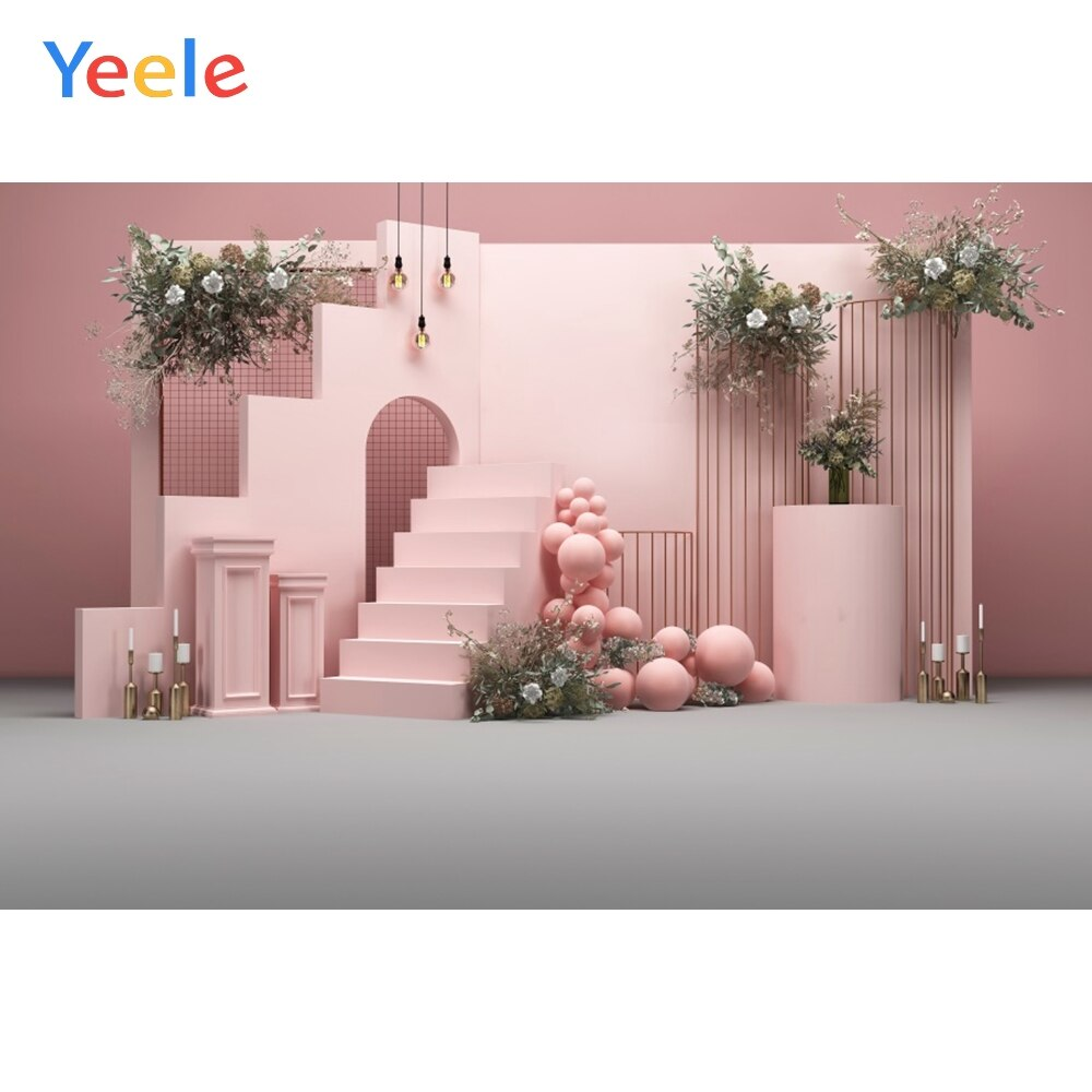 wedding background the blue sky and white clouds party photo backdrops tree flower chair background for photographic studio Vinyl Baby Birthday Backdrops Wedding Photography Living Room Pink Flower Personalized Photographic Background For Photo Studio