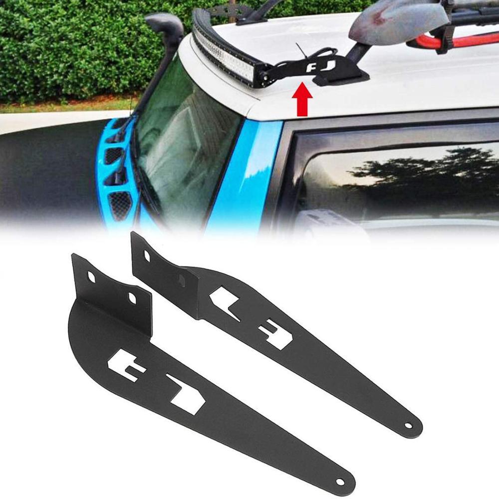 Car Upper Windshield Mounting Bracket Offroad Auto Accessories 52'' Light Bar Mount Holder for Toyota FJ Cruiser 2007-2014
