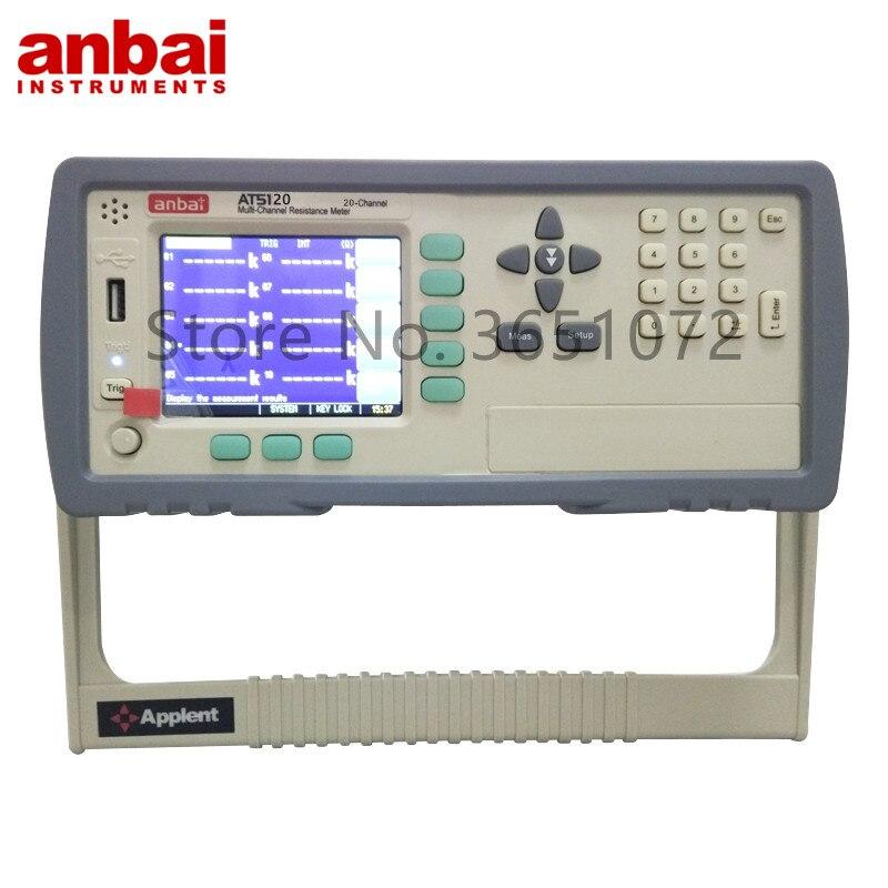 Resistência do Teste Canais do Verificador da Resistência da C.c. para a Fábrica do Equipamento Multi-canal At5120 20