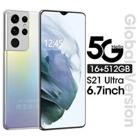 global version s21 ultra 5g 16512gb smartphone sansumg mtk6989 6000mah android11 mobile phone galay 6 7inch deca core cellphone