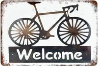 j dxhya tin poster metal sign welcome carretro nostalgic home cofe bar wall decoration decor 8x 12 xiii plaque vintage signs