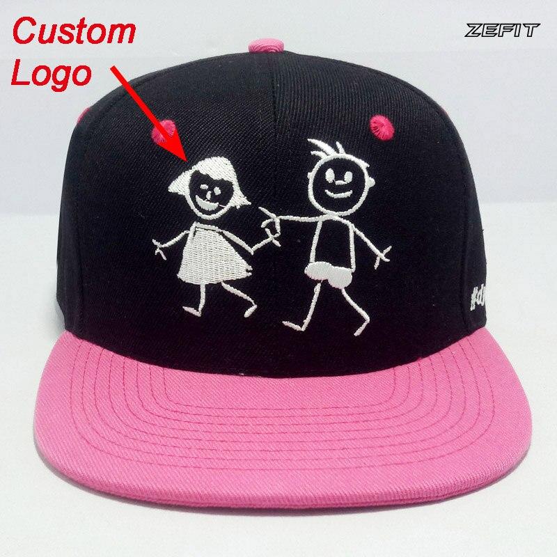 Custom-Made Youth Kids Hat Adjustable Tennis Sun Tour Tourism Team Children Small Size Head Wear Baseball Custom Trucker Cap