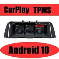 car multimedia gps audio radio for bmw 5 series f10 f11 20112016 for cic nbt carplay tpms android navigation