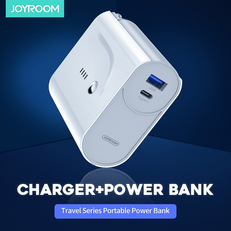 Joyroom Original Power Bank 2in1 cargador de viaje 5000mAh batería Externa cargador portátil Poverbank Bateria Externa