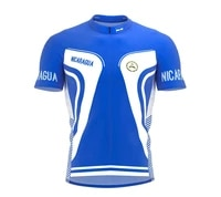 2021 nicaragua multiple choices summer cycling jersey team men bike road mountain race tops riding bicycle wear bike clothing