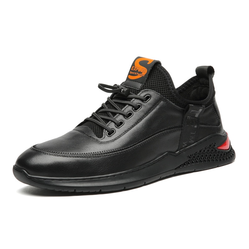 Outono e Inverno Sapatos de Moda Esportivos para Homem com Camada de Camurça para Homem Couro Sapatos Masculinos Nova Moda Casual Xm6 2021