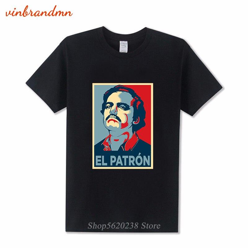 Camisetas de Plata O Plomo Pablo Escobar El patrón de los hombres...