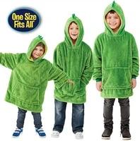 new pets hoodie dinosaur hooded sweatshirt warm winter hooded coats bathrobe fleece pullover children christmas gift