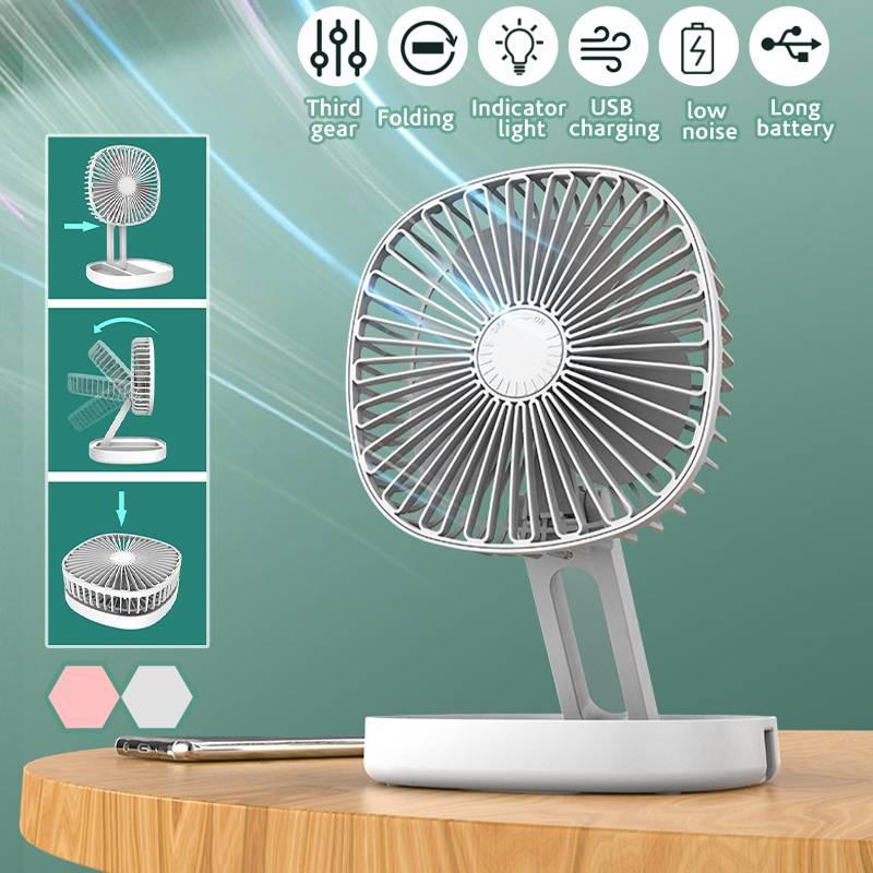 المحمولة طوي التبريد USB مروحة مكتب 3 سرعة الشخصية قابل للتعديل زاوية سطح المكتب الجدول مبرد الهواء مروحة للمنزل مكتب