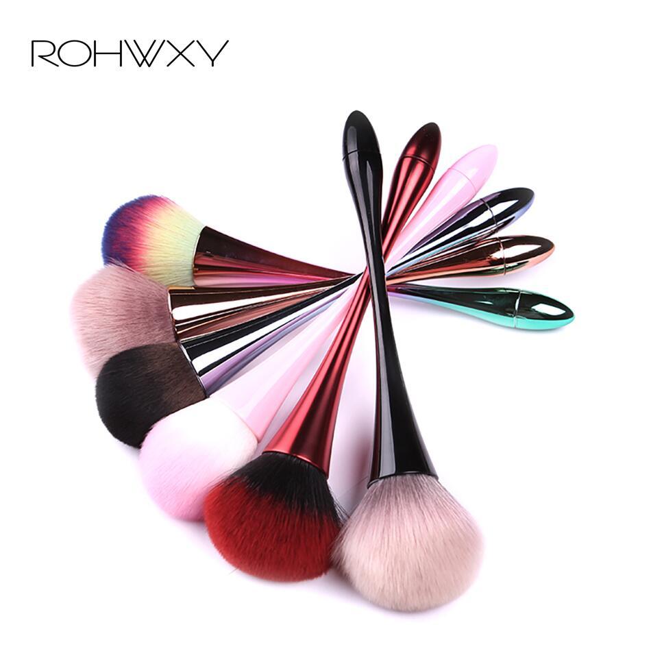 Щетка для дизайна ногтей ROHWXY, мягкая щетка для ногтей, УФ-гель для ногтей, нейлоновые Кисти для маникюра, профессиональные инструменты для дизайна ногтей своими руками