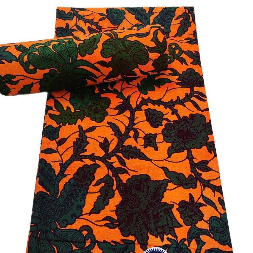 قماش أفريقي 100% قطن شمع حقيقي أنقرة طباعة النسيج بالجملة tissu الشمع الأفريقية طباعة النسيج للفساتين