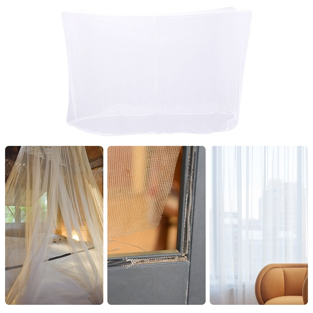 Two Size Simple Outdoor Camping Mosquito Net Tent Large Travel Hiking Hanging Bed Fishing Fly Insect Protection Repellent Tent