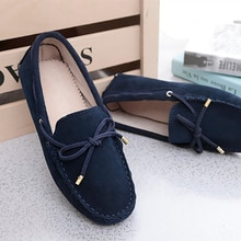 2021 Spring Summer Top brand women Moccasins Shoes Genuine Leather women Flat Shoes Casual Loafers S