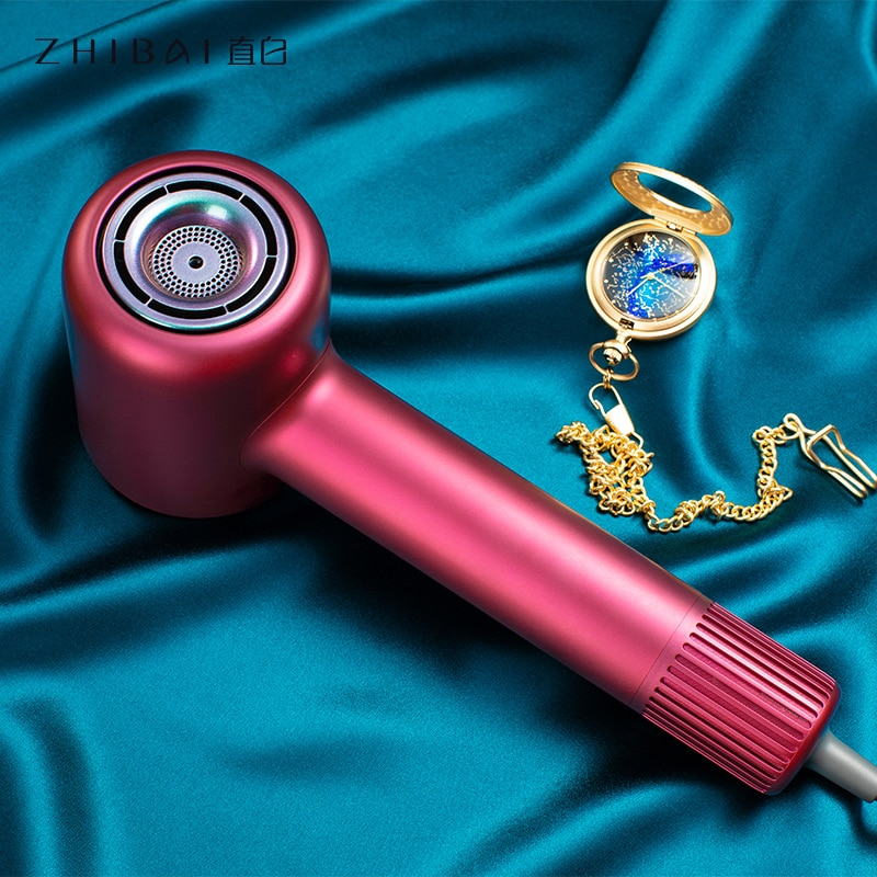 ZHIBAI High Speed Hair Dryer Innovative Frequency Conversion Wind Hair hair dryers  for Home Travel Dryer Portable enlarge