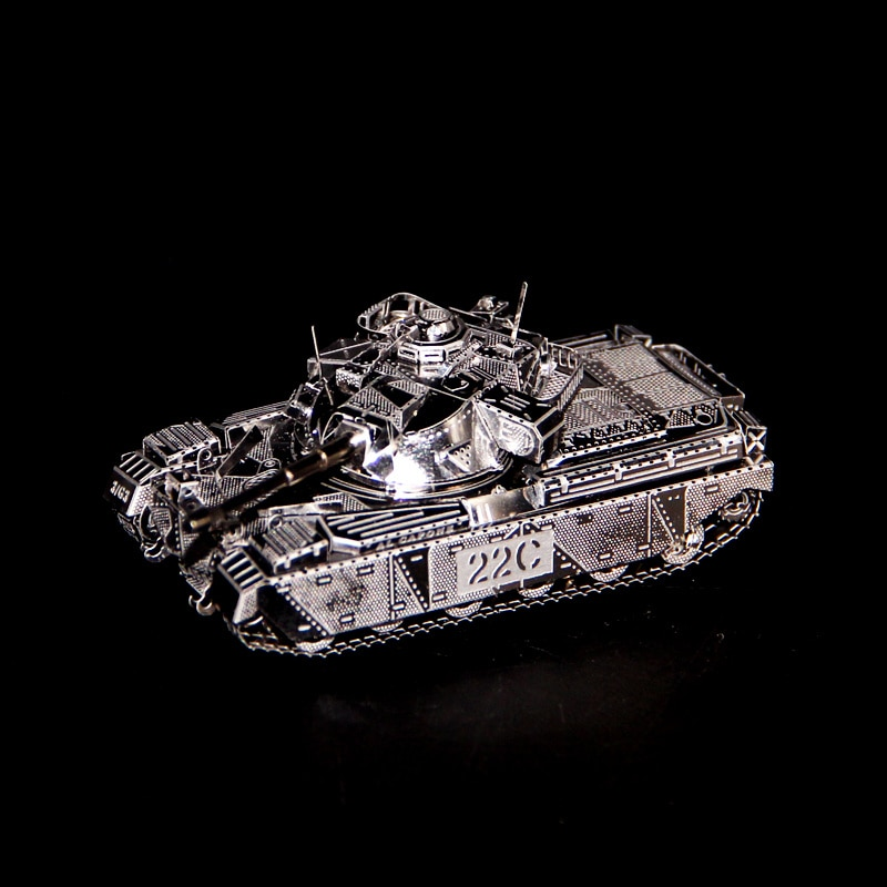 Rompecabezas 3D DIY de metal MK50, mini modelo de tanque, colección de...